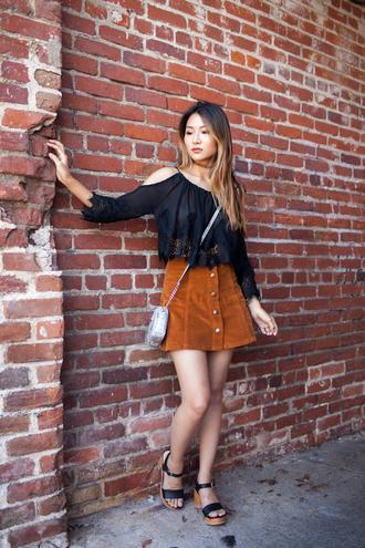 atsuna matsui atsuna matsui » blogger blouse skirt