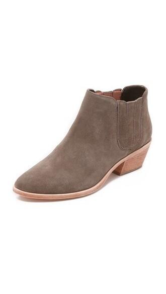 suede booties booties suede charcoal shoes
