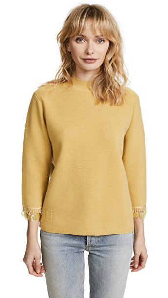 Marc Jacobs sweater pale yellow
