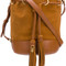 See by chloé - tasseled bucket bag - women - calf leather - one size, brown, calf leather