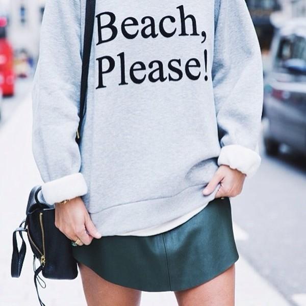 sweater beach please! sweater