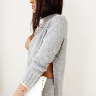 sweater gris class