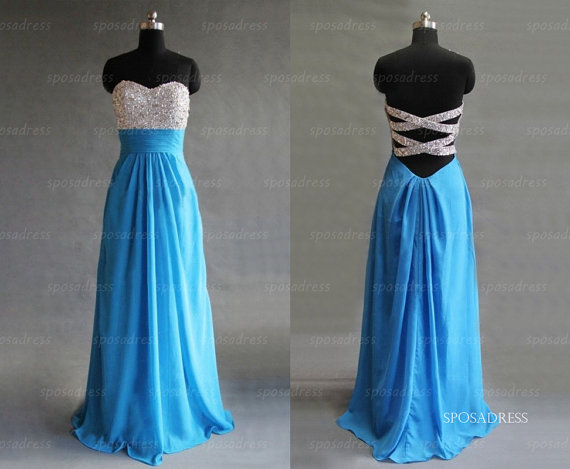 Blue prom dresses prom dresses 2014 dresses for prom by sposadress