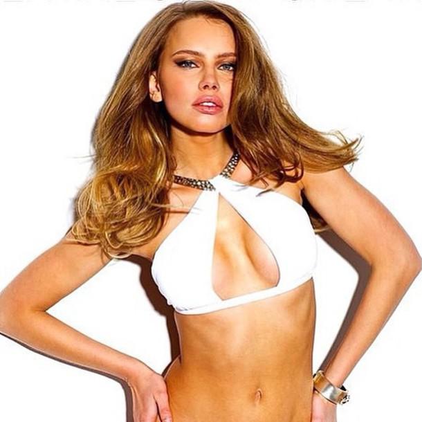 top sauvage white bikini miami