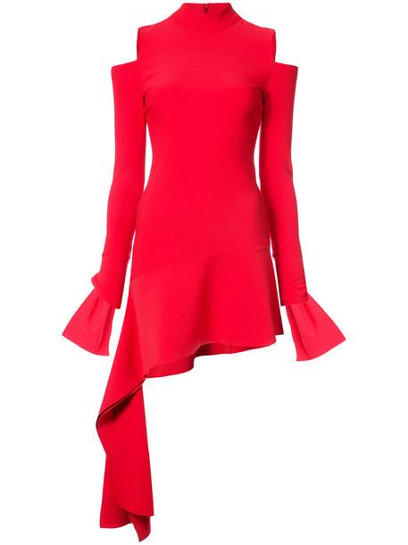 Alexis mini women spandex wool red jewels