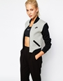 Nike Luxury Fleece Bomber Jacket at asos.com