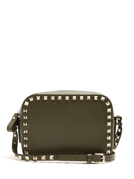 Valentino cross bag leather khaki