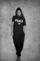 shirt,fendi,cozy pant,black,timberland,black and white,necklace,joggers,t-shirt,pants