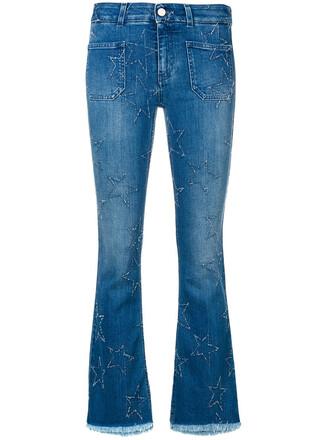 jeans flare jeans flare women spandex cotton blue