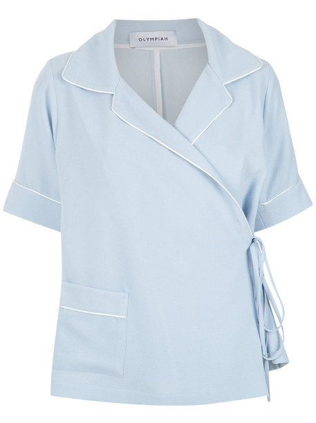 Olympiah shirt style women top