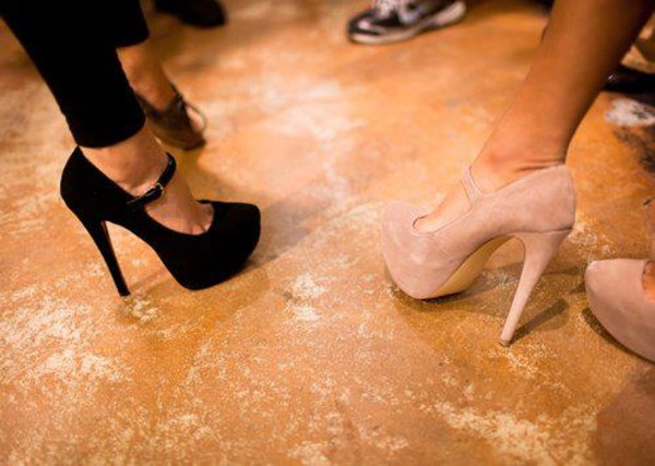 shoes nude high heels cream high heels black  high heels