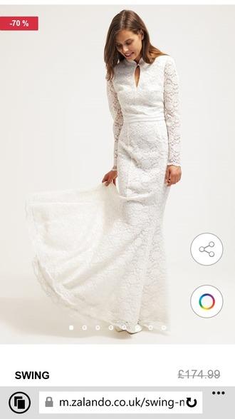 dress swing lace wedding dress