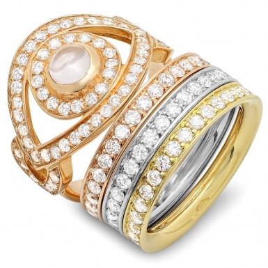 Blushing Bride Ring #1082 - Rings - CB Luxe