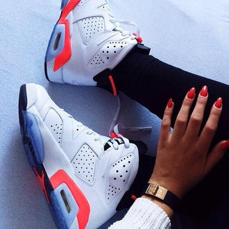 shoes jordan's white nike sneakers air jordan 6 retro jordans