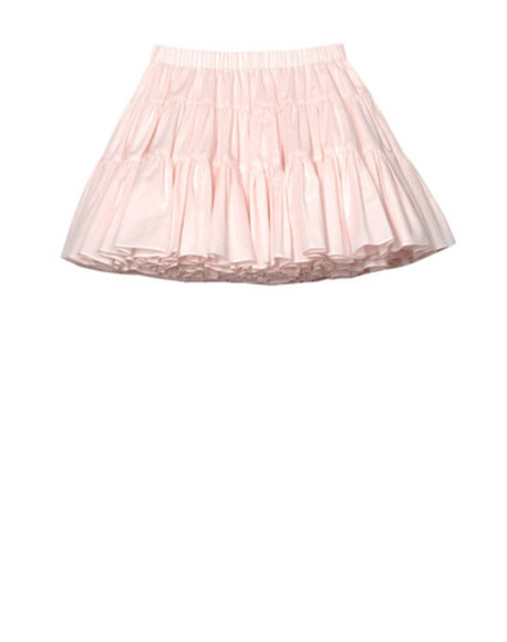 Valentino skirt pastel pastel pink cute kawaii pretty poofy skirt