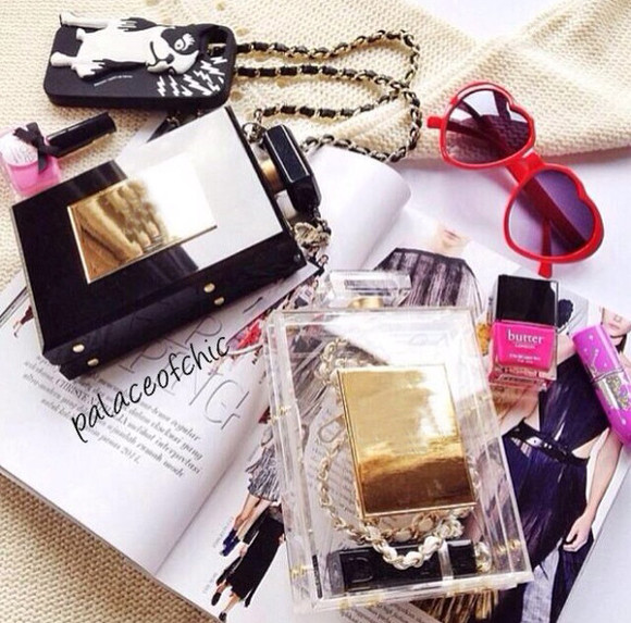 bags bag chanel bag shirt, shorts, lace, bows, white, bag, japanese, korean, tights, thigh highs, beautiful bags