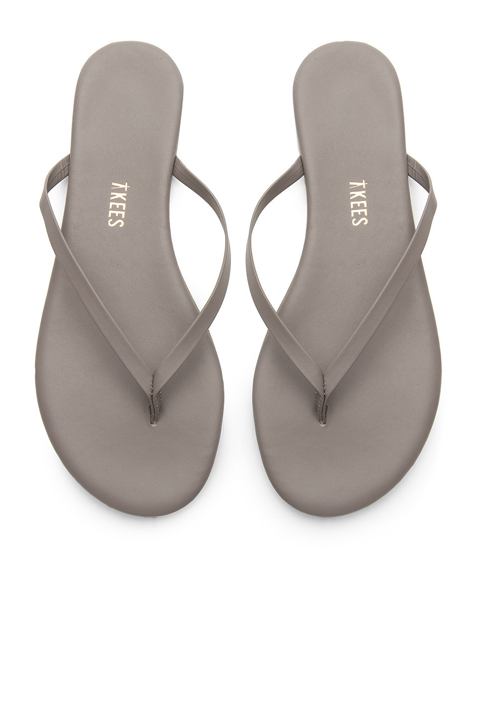 TKEES Solids Sandal in gray