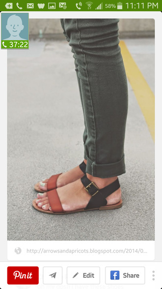 shoes sandals black buckles summer california leather sandals flat sandals strappy sandals strappy shoes brown