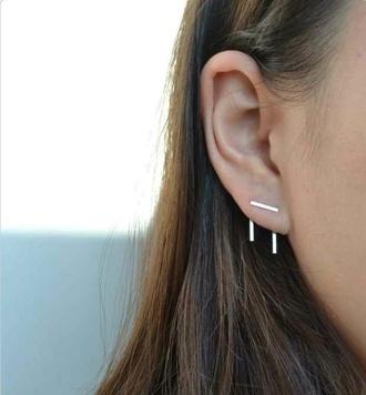 jewels earrings double peircing