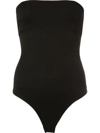 body strapless women spandex black underwear
