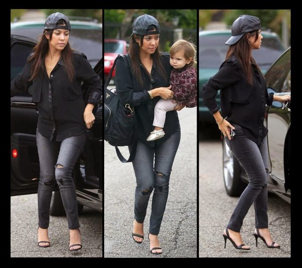 jeans kourtney kardashian keeping up with the kardashians