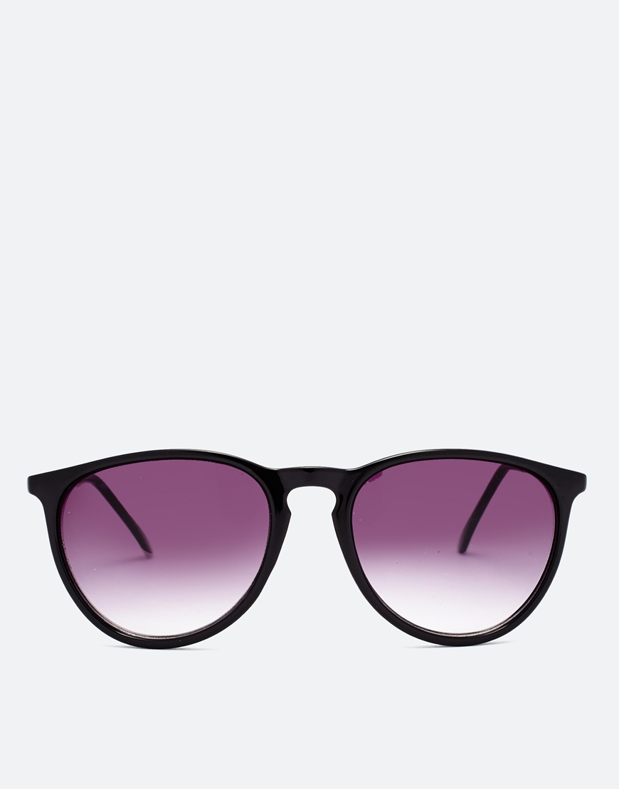 ASOS Retro Sunglasses With Thin Frame at asos.com