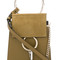 Chloé - mini faye shoulder bag - women - calf leather - one size, green, calf leather