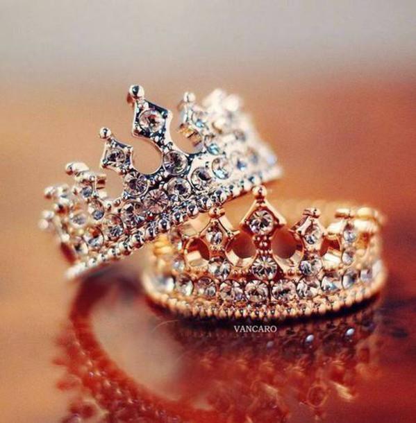 Jewels Gold Silver Rings Crown Vancaro Hair