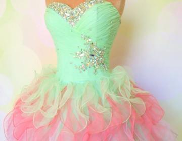 Custom made short prom dresses, sho..