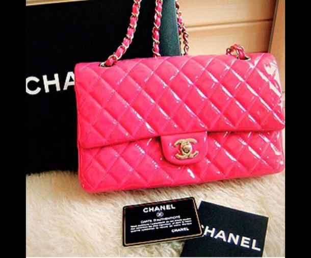 954765dd50f bag hot pink chanel bag hot pink chanel bag pretty chanel