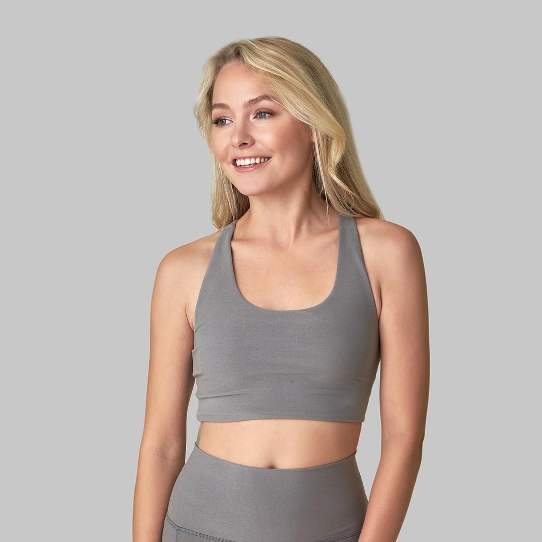 Wolf Grey Yoga Top