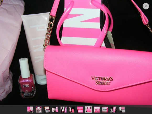 bag pink bag victoria secret bag victoria secret pink pink clutch bag