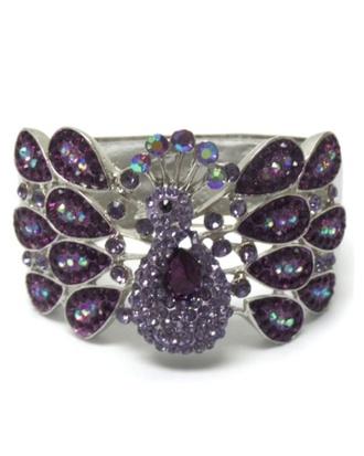 phone cover peacock bangle bracelet crystal hinge jewelry