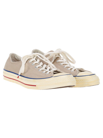 classic sneakers lace blue khaki red shoes
