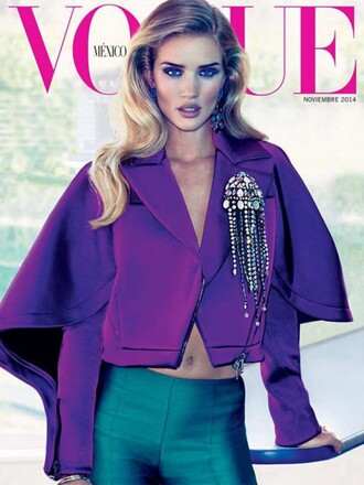 jacket fall outfits rosie huntington-whiteley pants