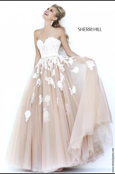 dress sherri hill sherri hill ball gown dress sherri hill lovely dress prom dress prom prom gown girl girly gorgeous gorgeous dress summer strapless
