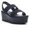 Double elastic strap wedges
