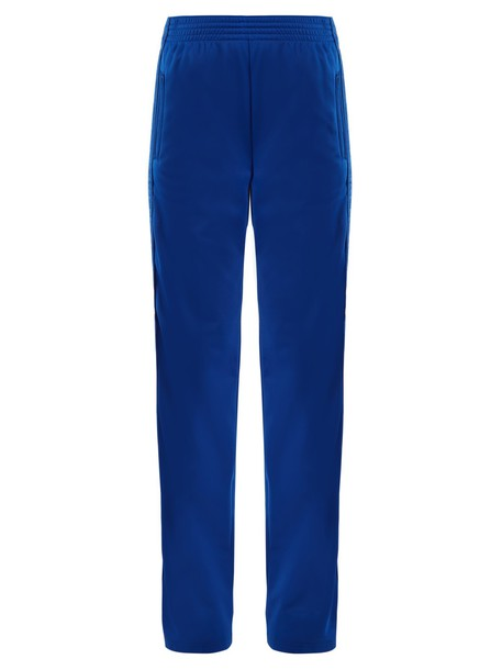Givenchy high print blue pants