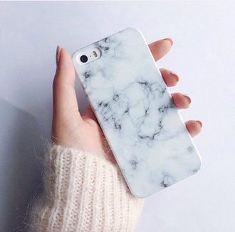 phone cover fashion style marble hipster