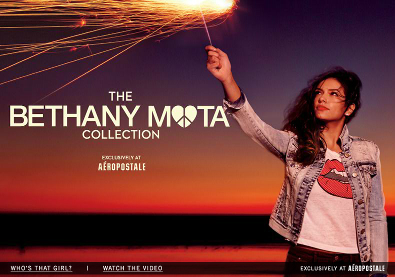 Bethany Mota - FEATURED SHOPS - Aeropostale