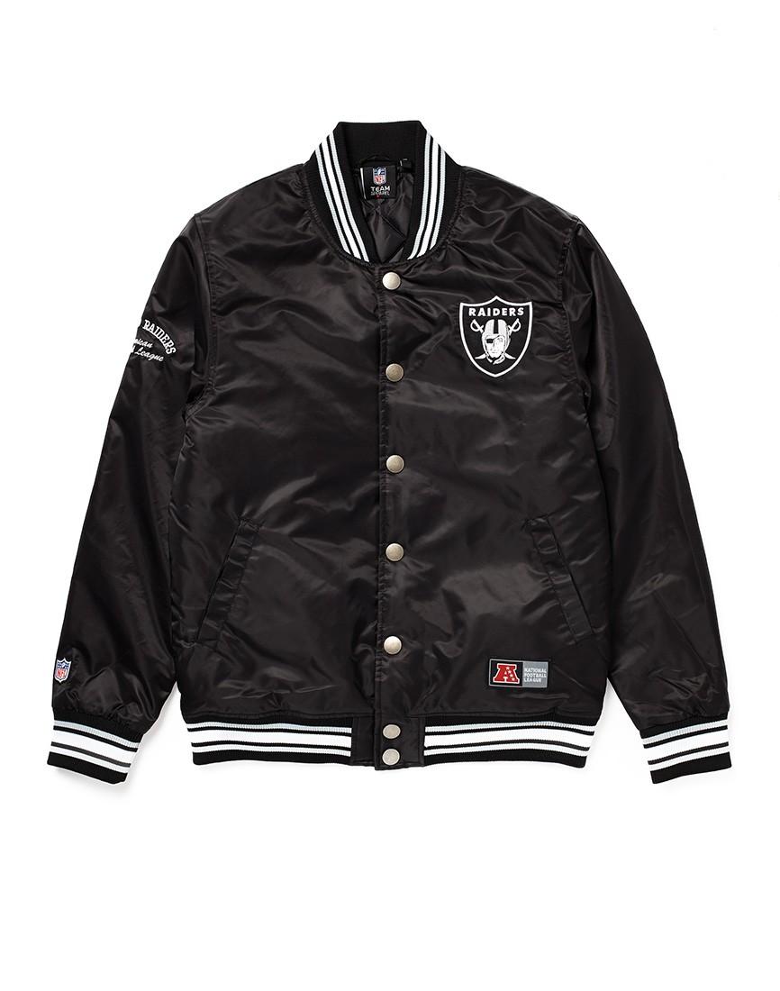 Majestic Athletic Oakland Raiders Varsity Jacket The