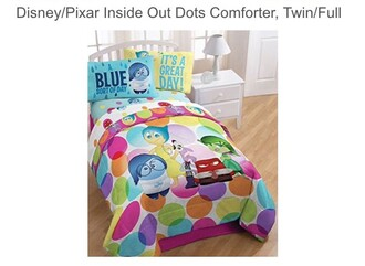 home accessory disney pixar inside out duvet colorful disney pixar