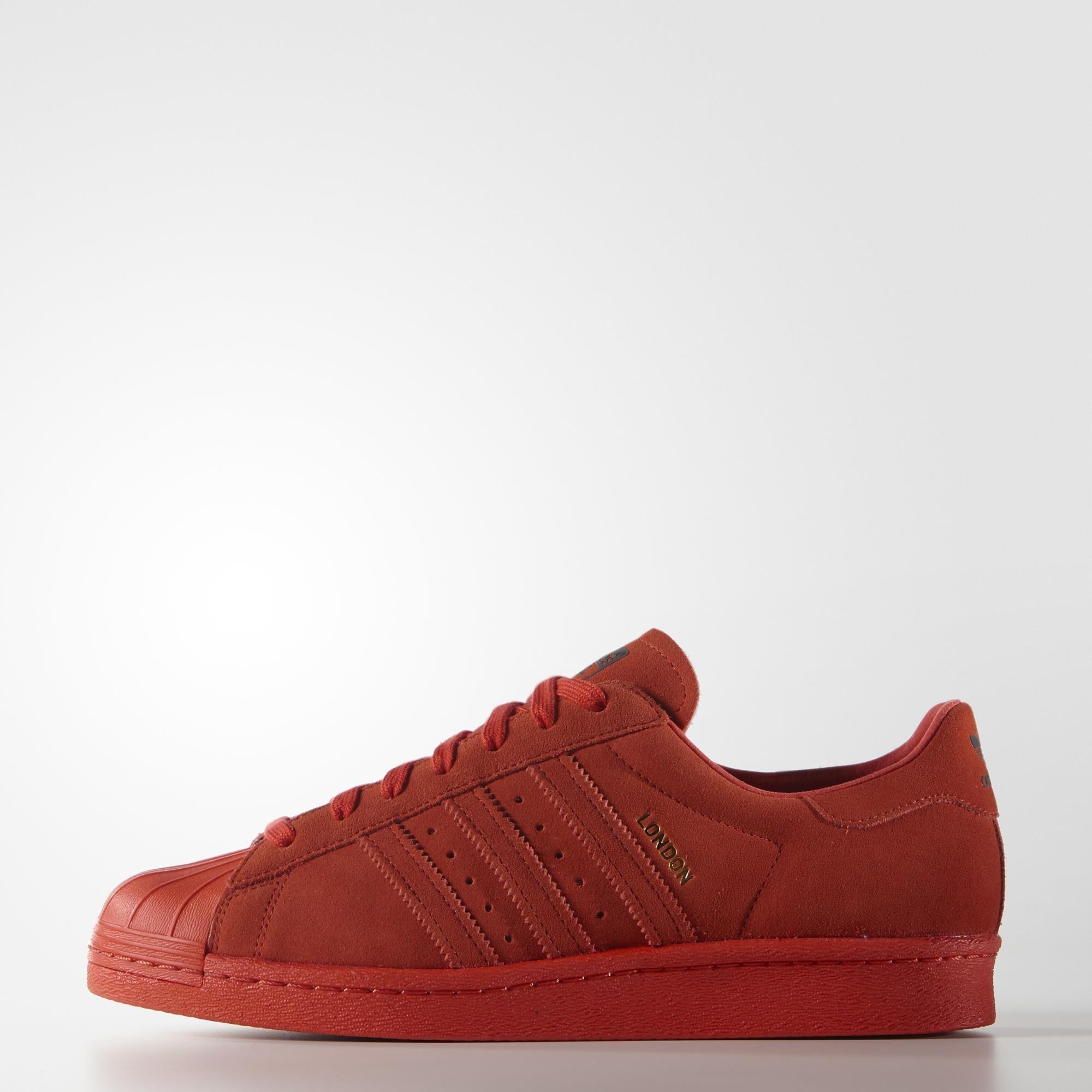 superstar 80s red