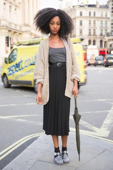 skirt black midi skirt high waisted skirt