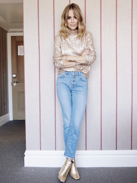 anine'sworld blogger jeans sweater shoes jewels