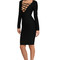 Amelia dress in black – noodz boutique
