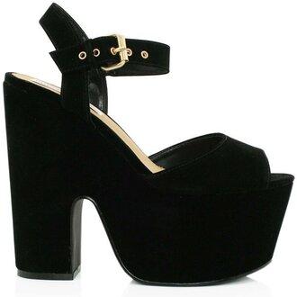 shoes black heels black heels with ankle strap heels wedges