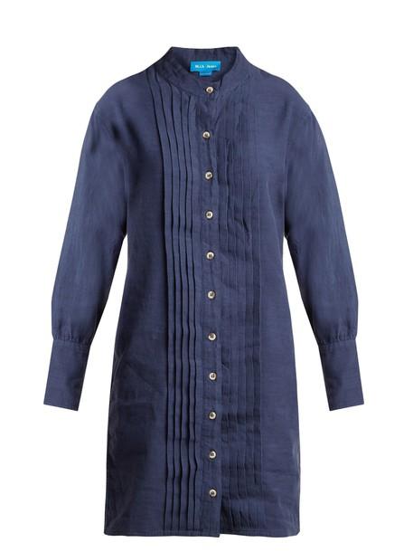 M.i.h Jeans dress pleated cotton