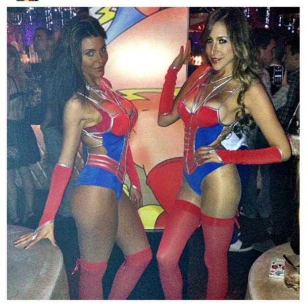 Sexy spider halloween costume