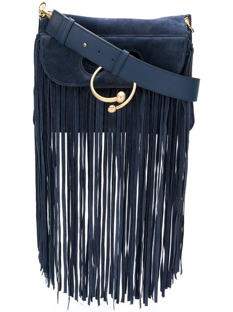 J.W.Anderson women bag shoulder bag leather blue